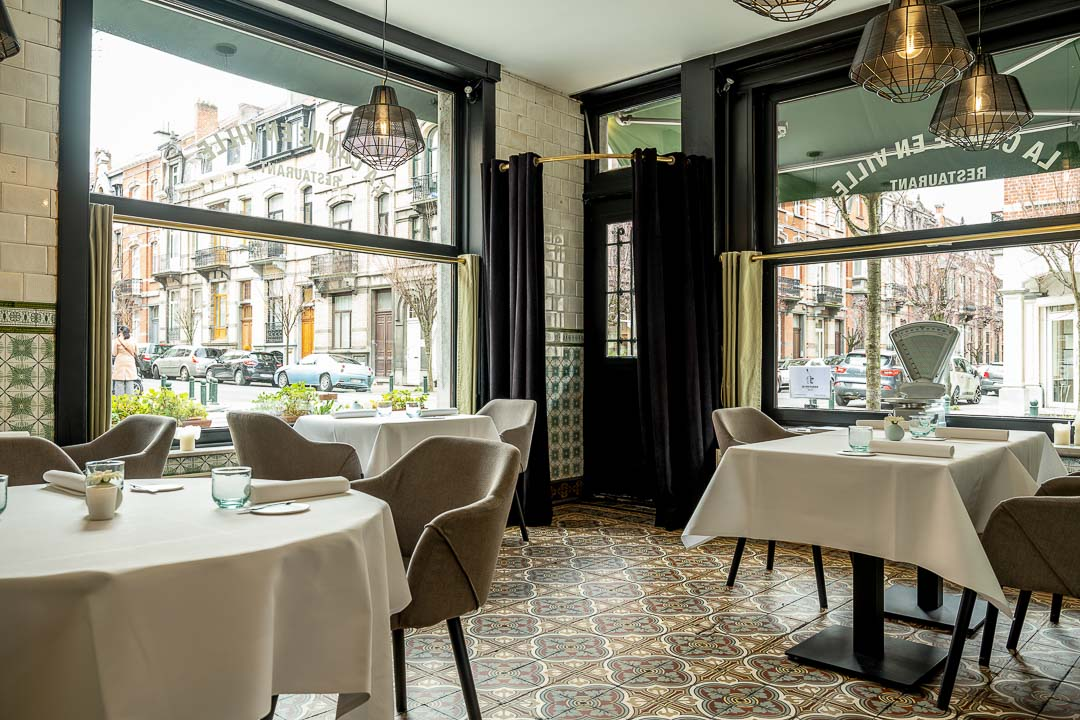 La Canne en Ville by Hungry for More. Authentic interior at the restaurant.