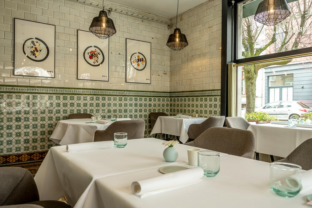 La Canne en Ville by Hungry for More. The authentic interior of the restaurant.