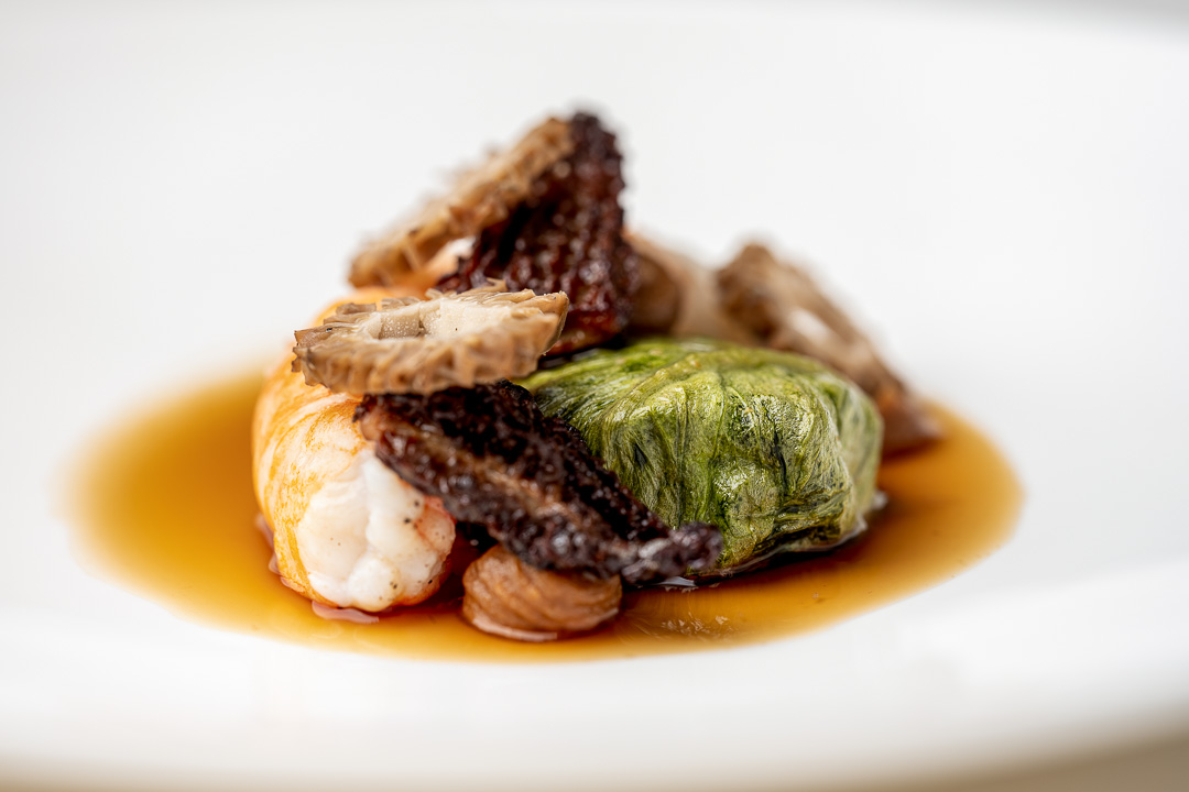 La Canne en Ville by Hungry for More. Details of the signature dish by chef Kevin Lejeune.