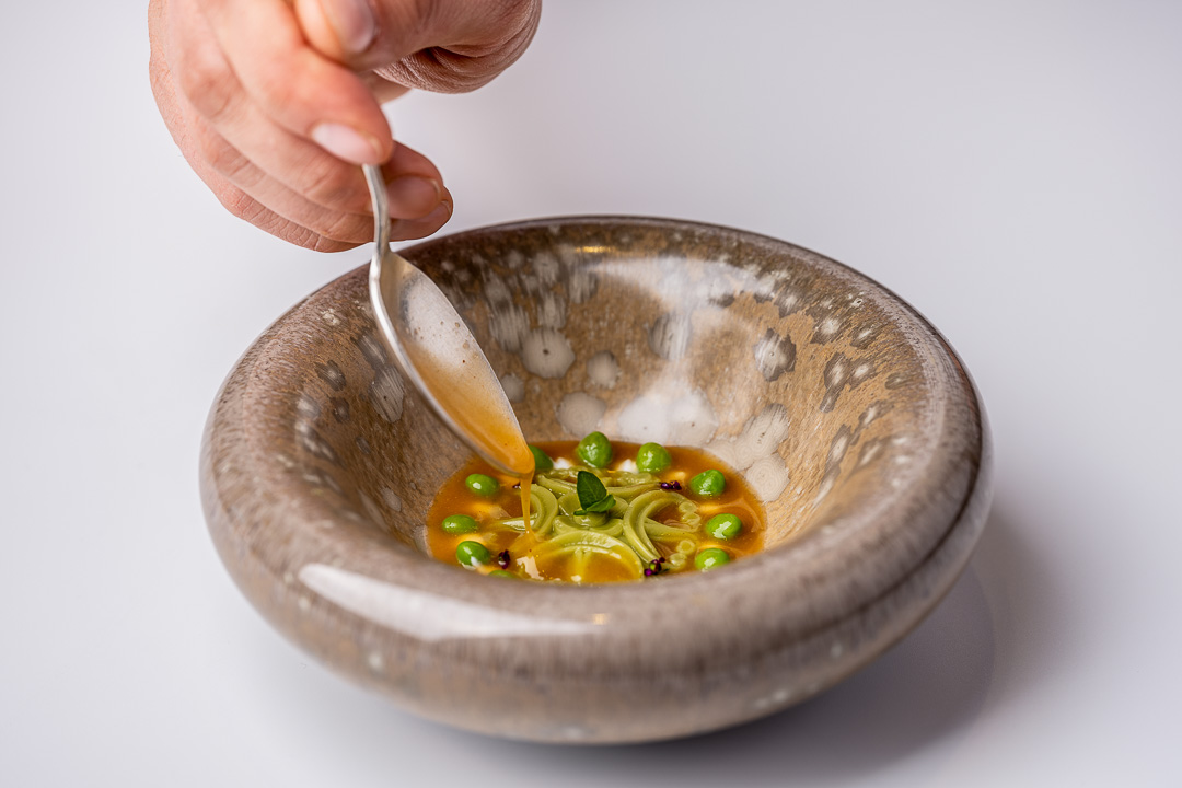 Paco Roncero by Hungry for More. A vegetable stew by chef Paco Roncero.