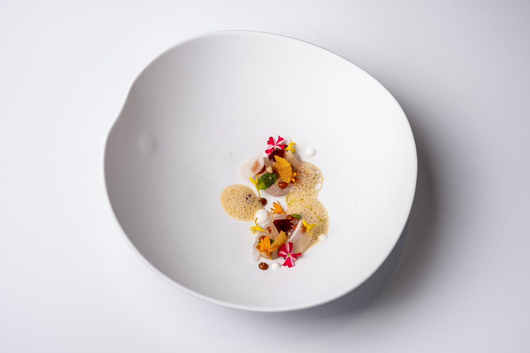 Paco Roncero by Hungry for More. A dish of quisquillas by chef Paco Roncero.