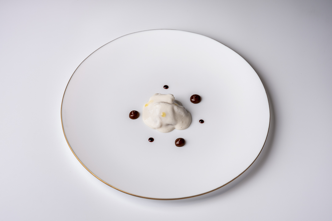 Paco Roncero by Hungry for More. A dish with stuffed hake by chef Paco Roncero.