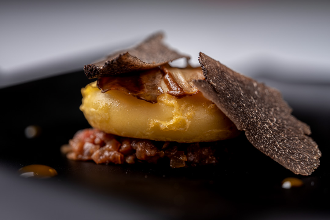 Paco Roncero by Hungry for More. A Spanish omelette by chef Paco Roncero.