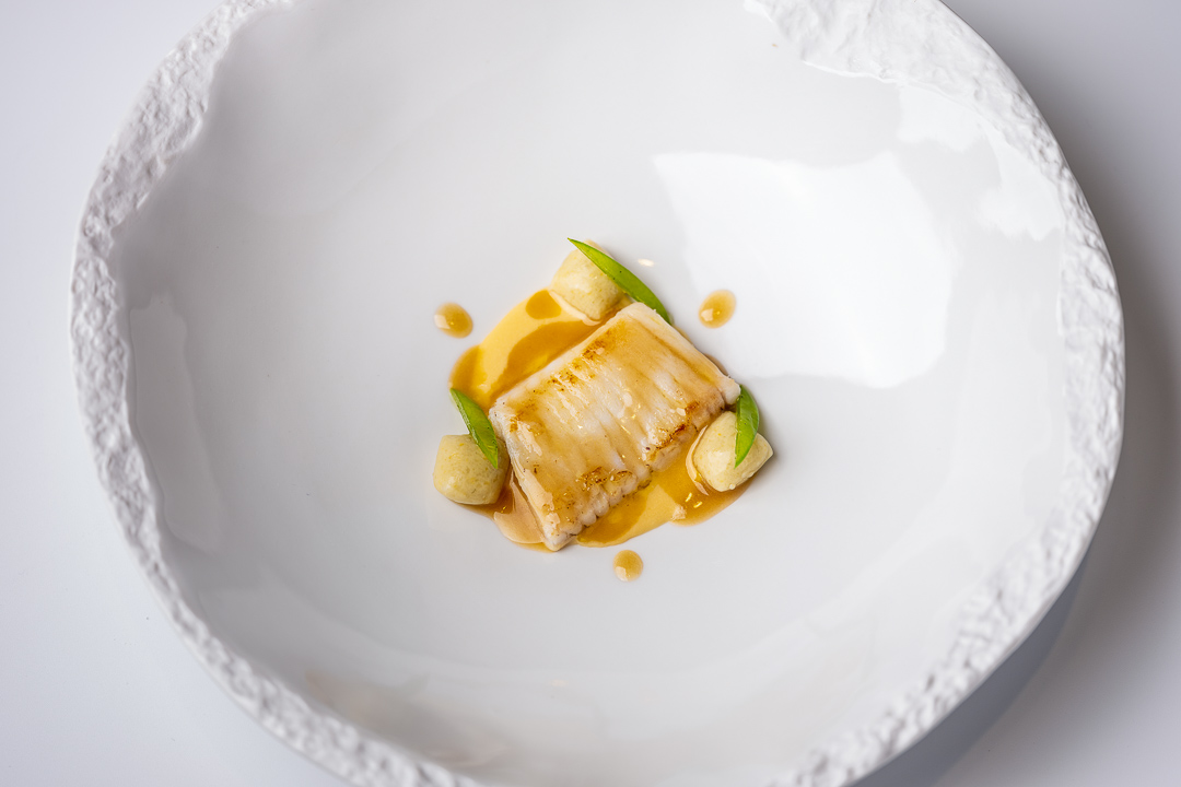 Paco Roncero by Hungry for More. A skate fish dish by chef Paco Roncero.