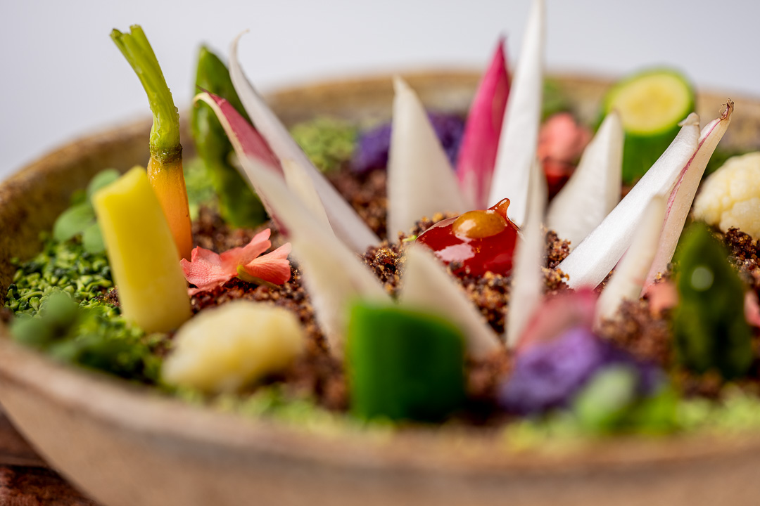 Paco Roncero by Hungry for More. Details of the vegetable garden by chef Paco Roncero.
