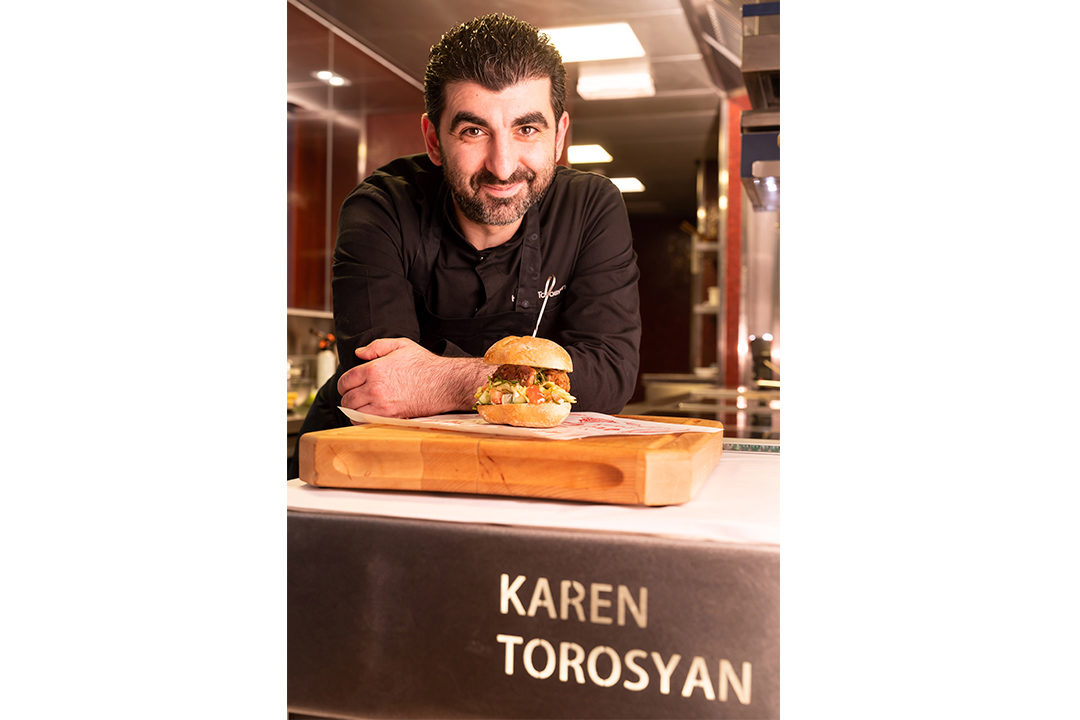 Pistolet Original by Hungry for More. Chef Karen Torosyan presenting his Pistolet Original.