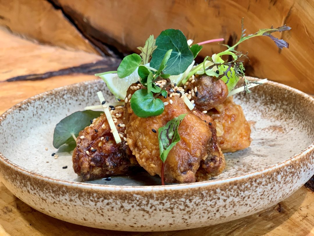 Recipe: Miso Fried Chicken by chef Tohru Nakamura of restaurant Werneckhof by Geisel in Munich, Germany