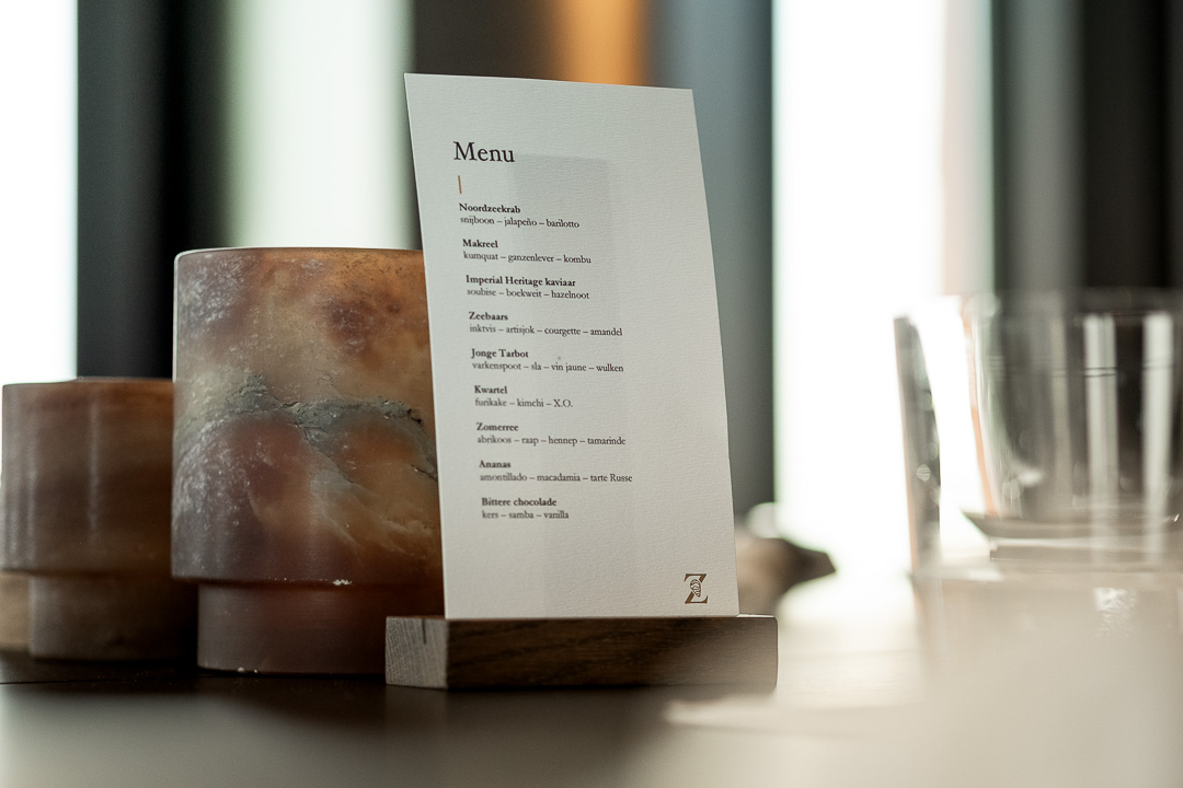 Zilte by Hungry for More. Interior. - Menu