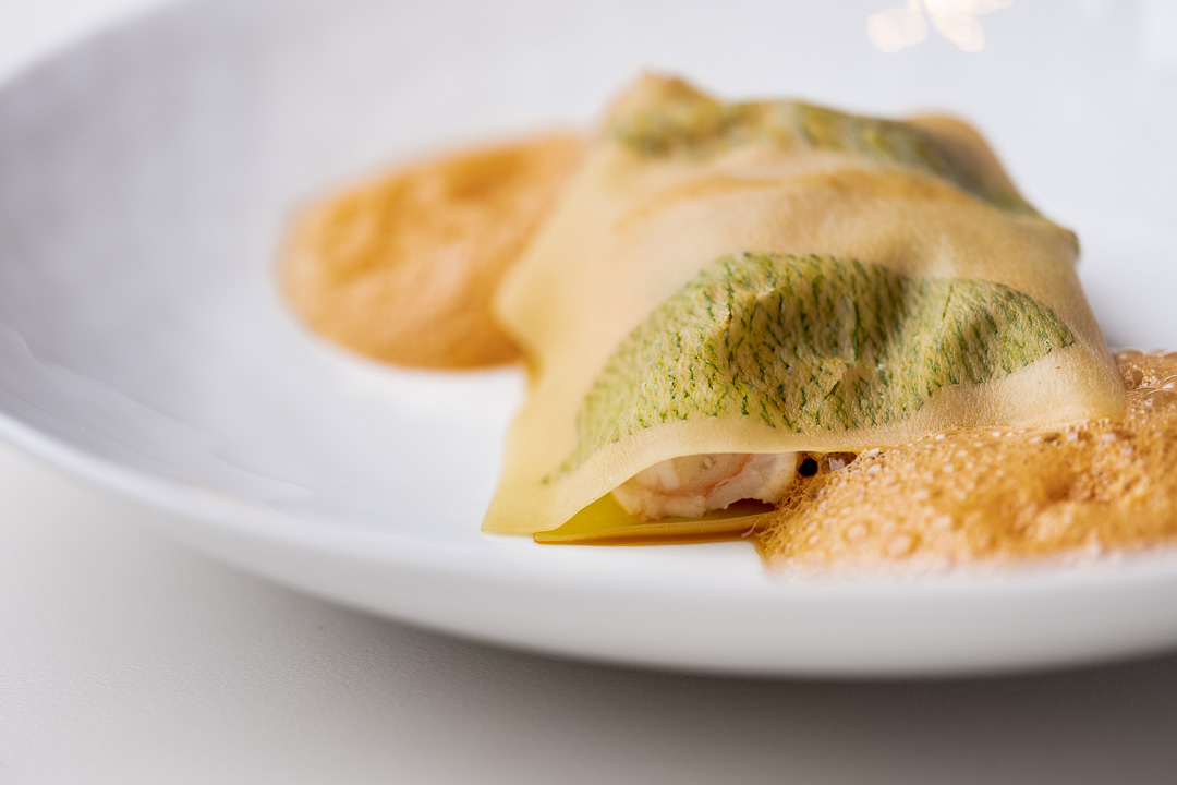 Franq By Hungry for More - Ravioli, king crab.