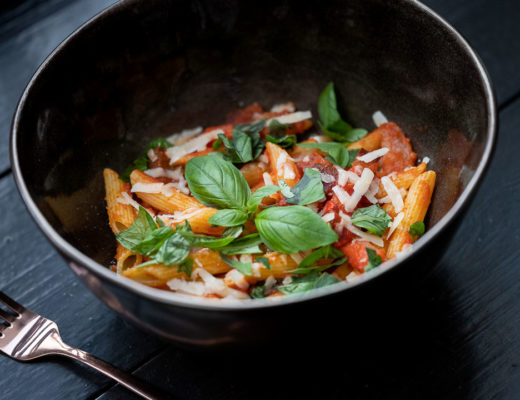 Enit By Hungry For More - Pasta Penne all' Amatriciana