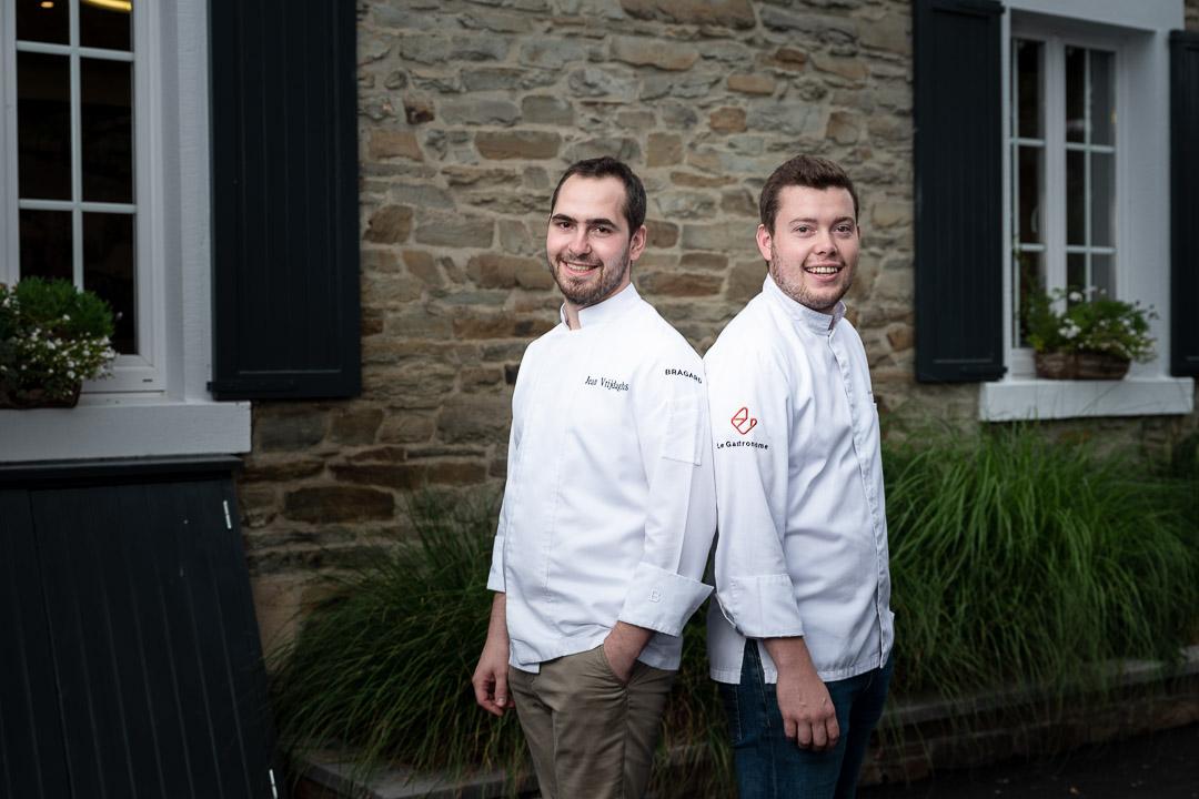 Le gastronome By Hungry For More - chefs Jean Vrijdaghs en Sébastien Hankard