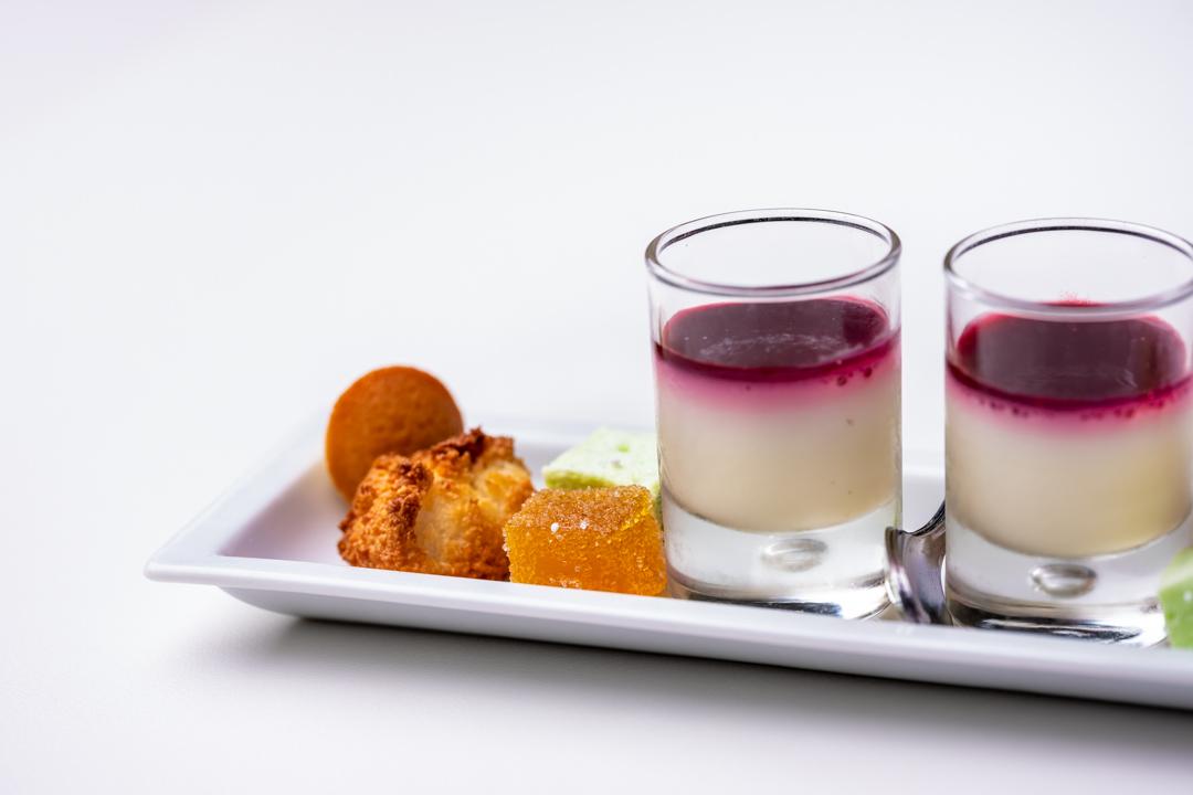madeleine, roche, marshmallow van pistache by Gouden Harynck
