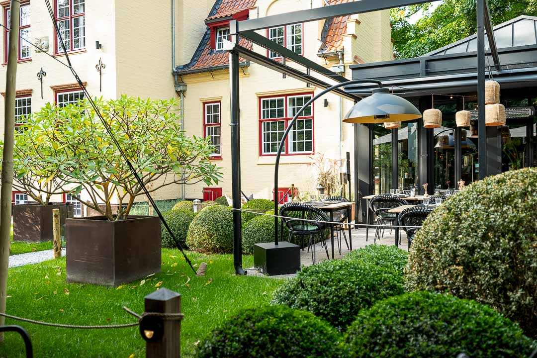 tuin Hotel 't Fraeyhuis