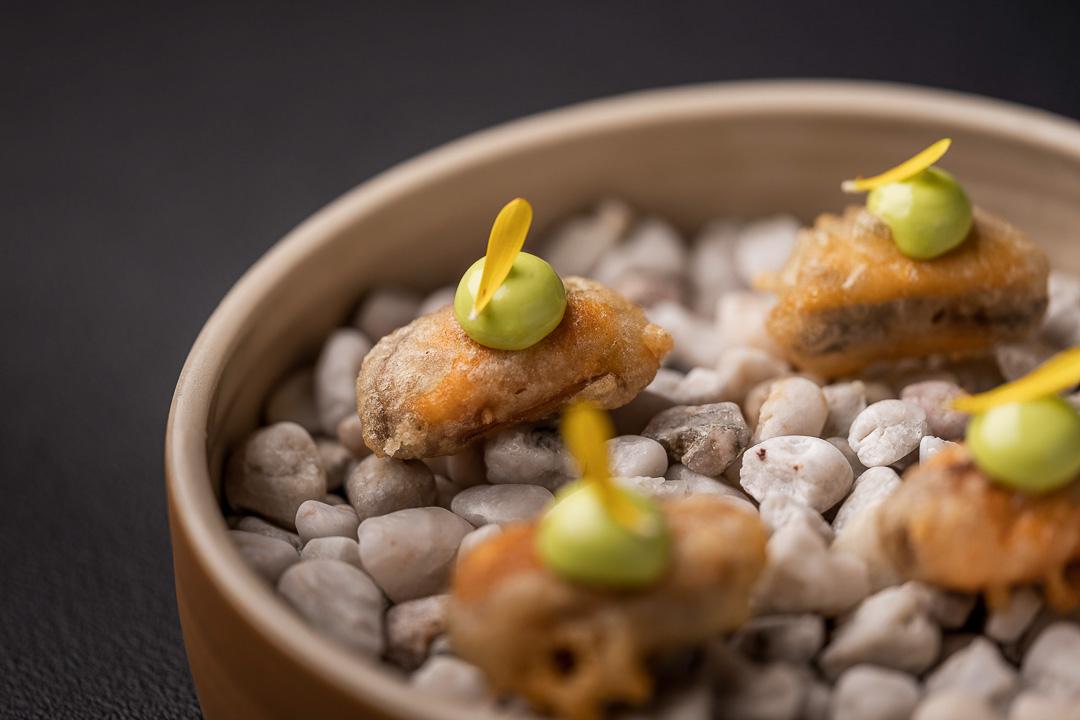 tempura mossel by franco belge
