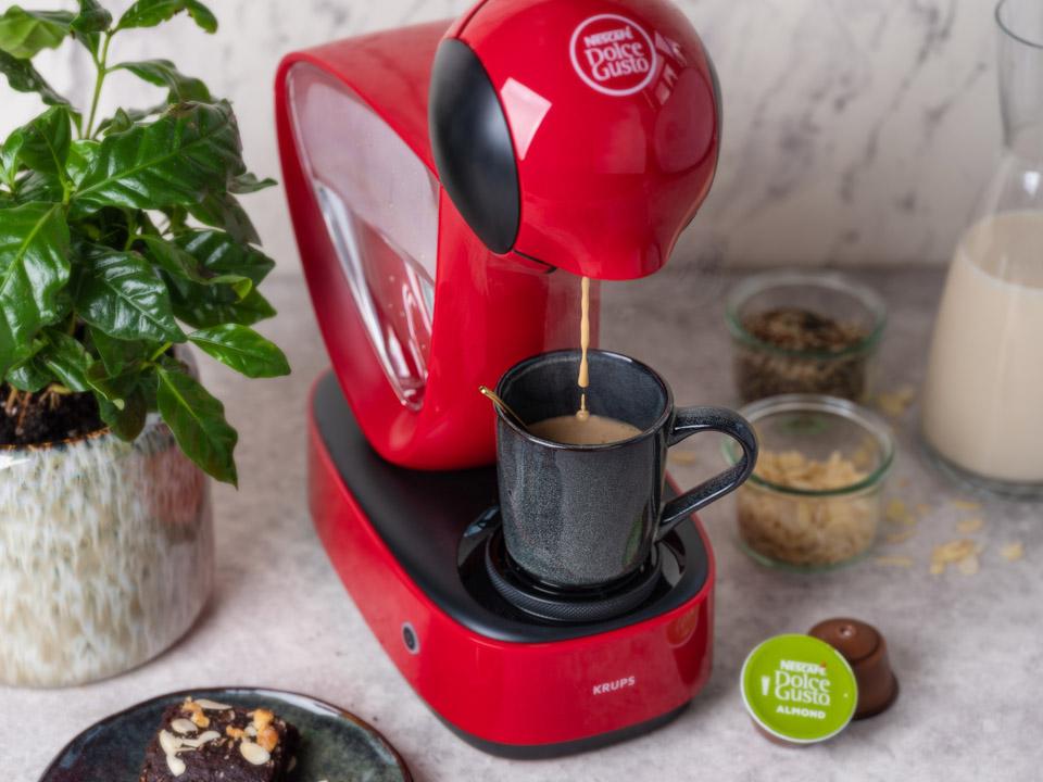 The new Nescafé Dolce Gusto vegan almond coffee