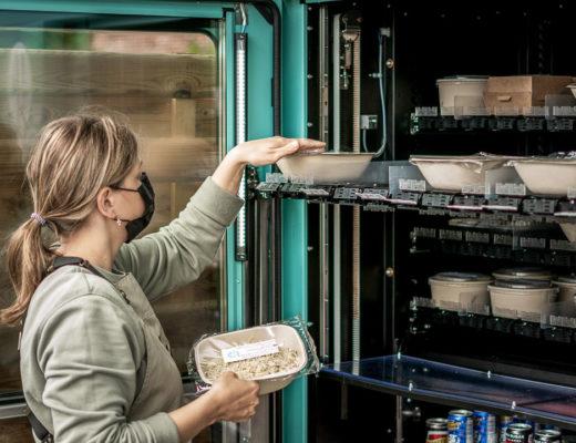 Ontdek het menu van Heat via afhaalautomaten