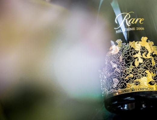 Laat je smaakpapillen genieten van deze nieuwe Rare Millésime 2008 Champagne.